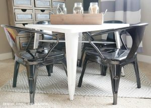 Farmhouse Kid's Table and Chair Set