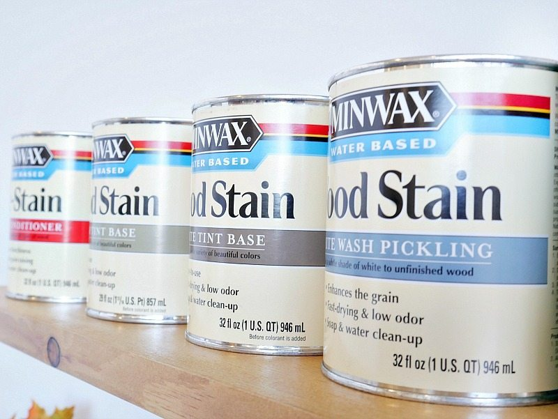 Water Based Wood Stains
