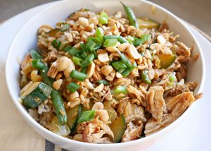 Chicken Fried Rice – A Blue Apron Dinner