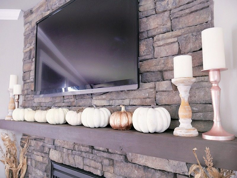 white-pumpkins-across-mantel