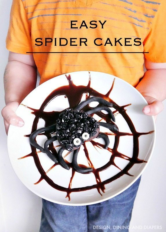 easy-halloween-treat-ideas-spider-cakes
