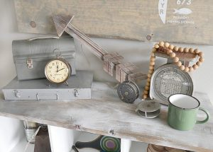 Vintage Fishing Vignette