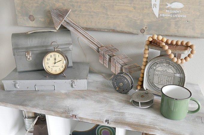 industrial-vintage-display