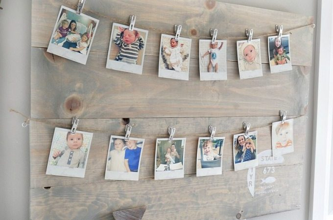 polaroid-picture-display-on-wood