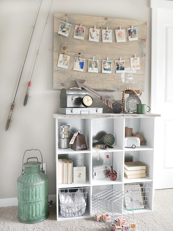 vintage-fishing-themed-vignette