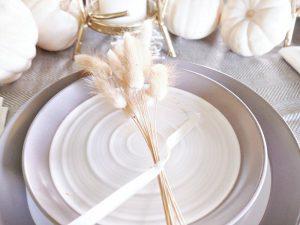 Simply Elegant Fall Table Setting
