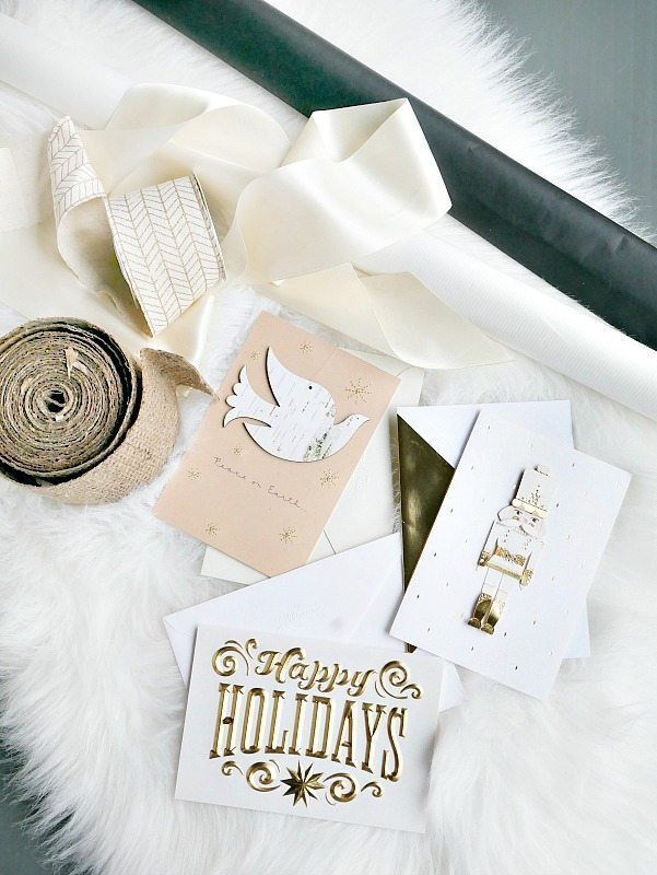 Thoughtful Gift Wrap Ideas with Hallmark Cards