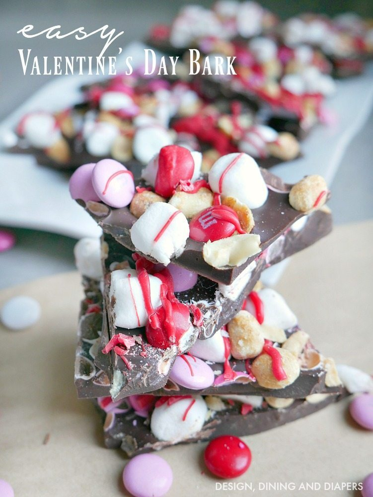 Easy Valentine's Day Bark