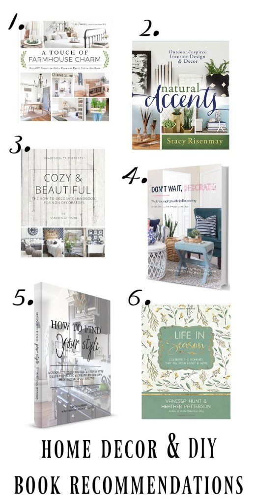 Decorating and DIY Book Recommendations