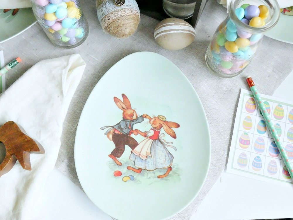 Easter Table For Kids