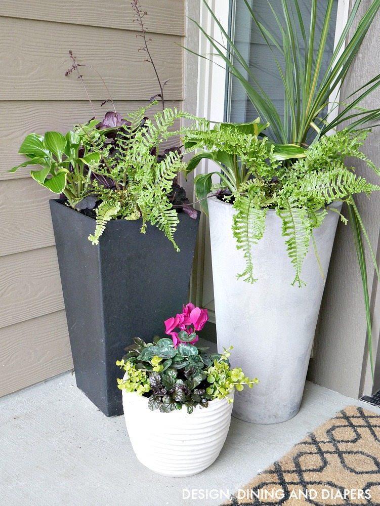 Front porch planter ideas taryn whiteaker for Planter design ideas