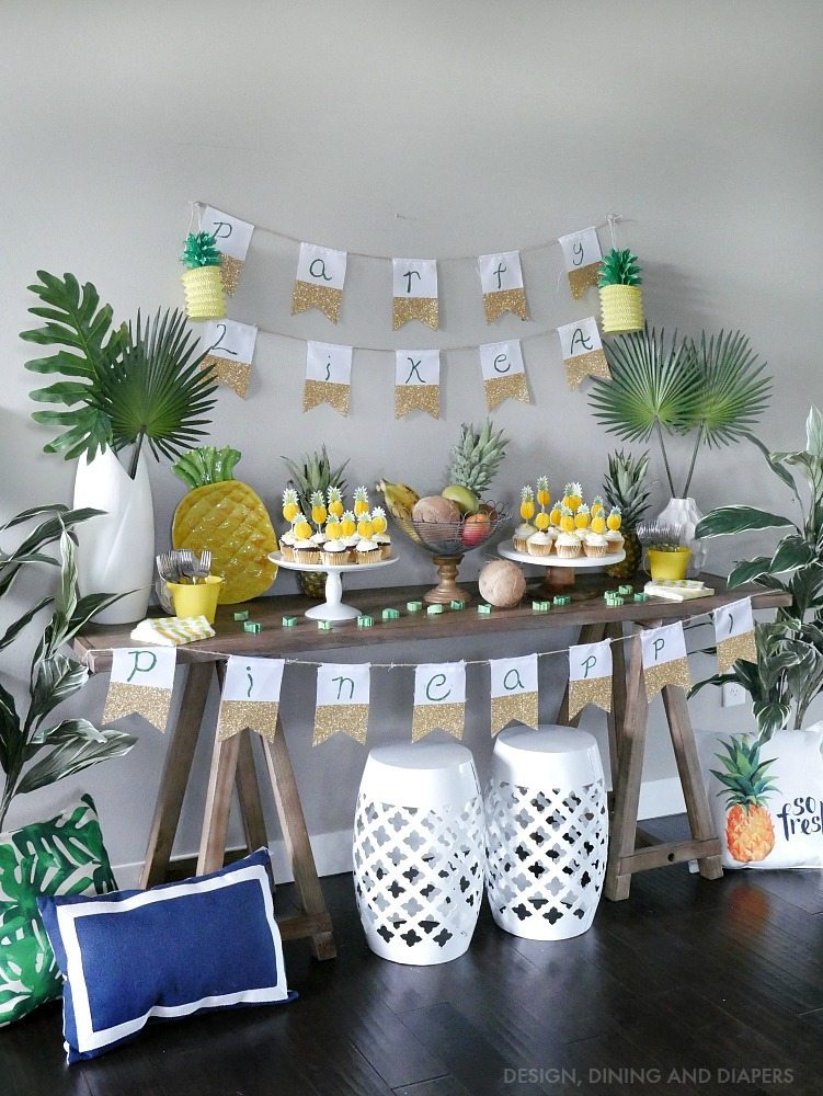 Ideas for a Pineapple Party