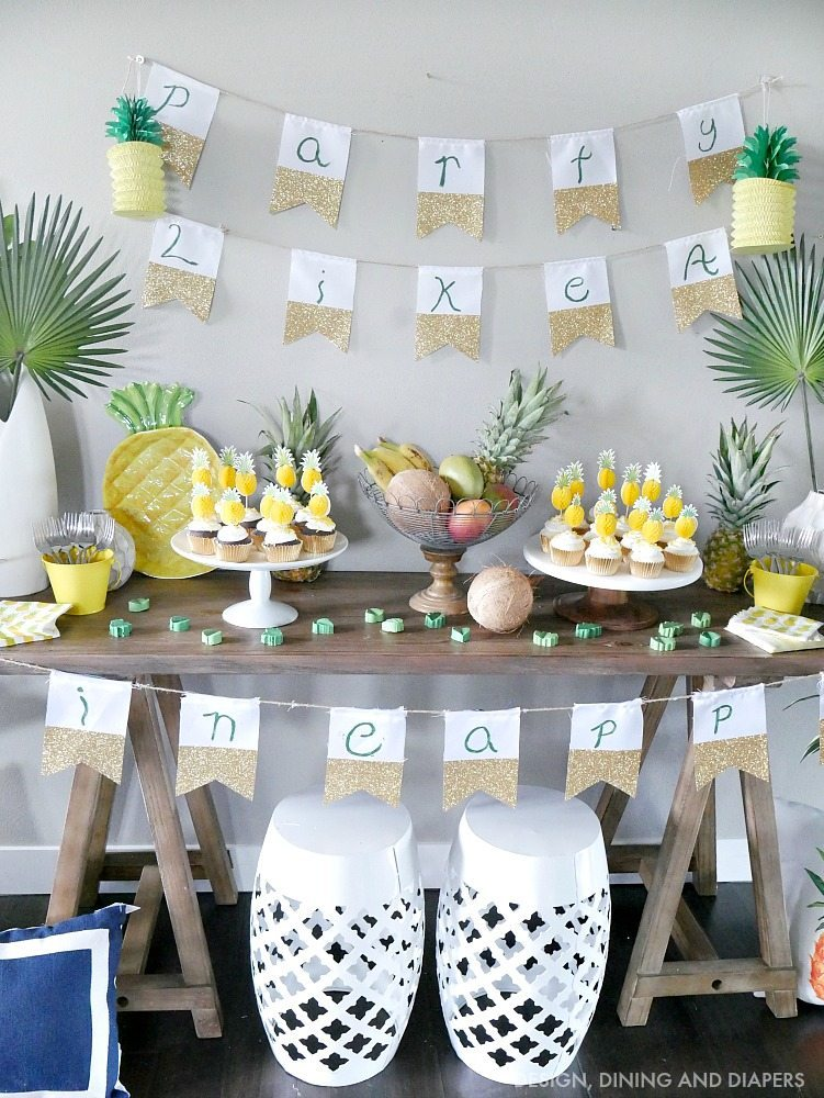 Tropical Pineapple Party