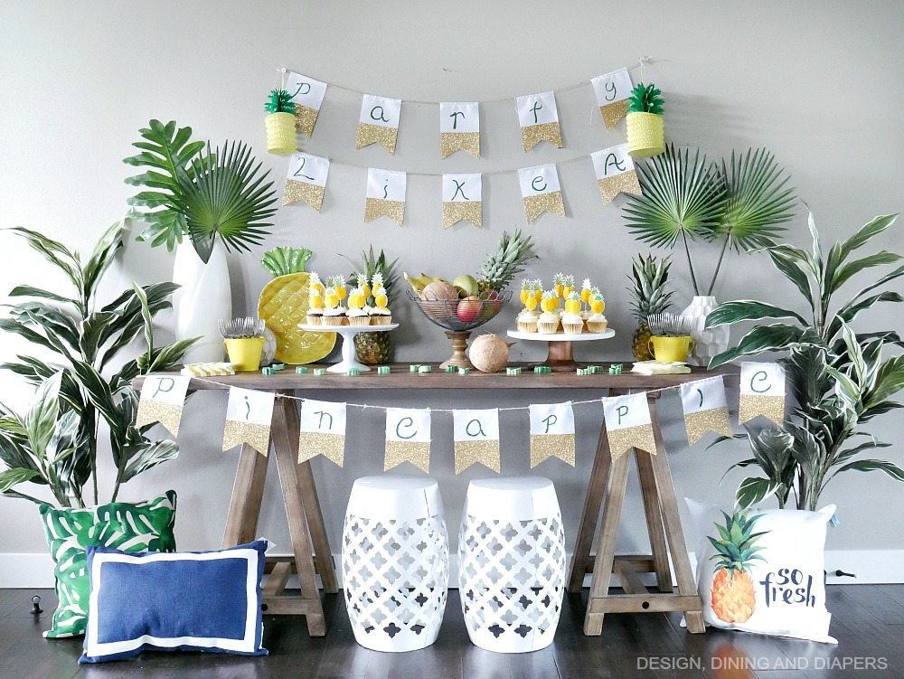 Pineapple party ideas taryn whiteaker Ananas dekoration