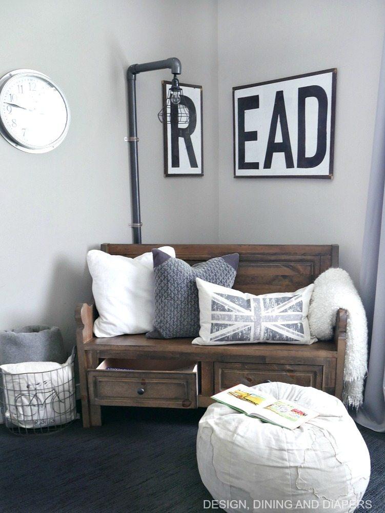 Rustic Modern Kids Room