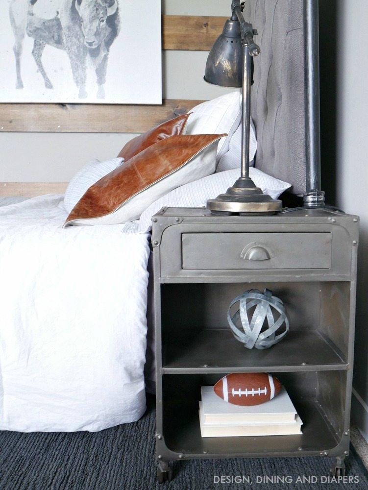 Modern Boys Room rustic modern boy room - taryn whiteaker