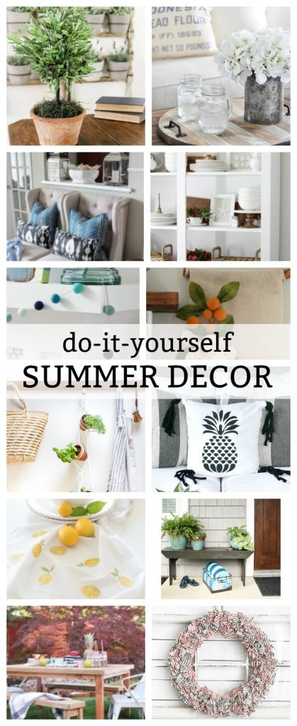 DIY Summer Decor Projects