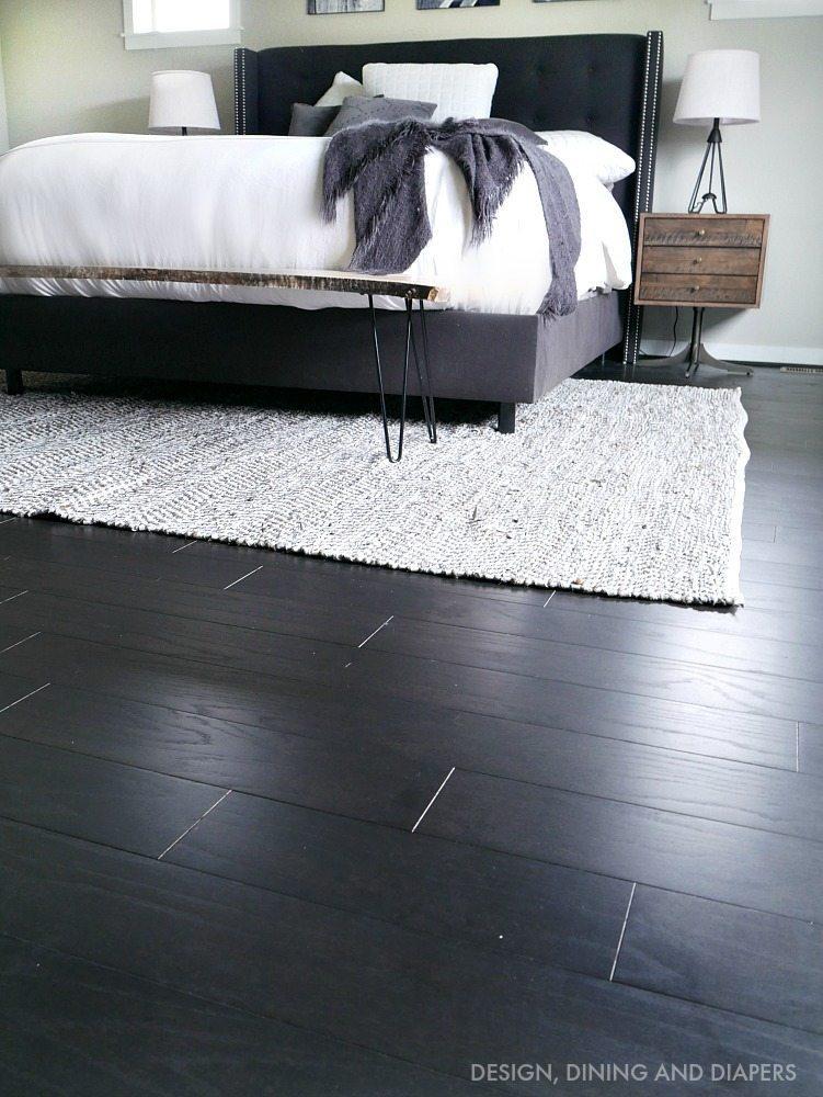 Master Bedroom Progress - New flooring is in!