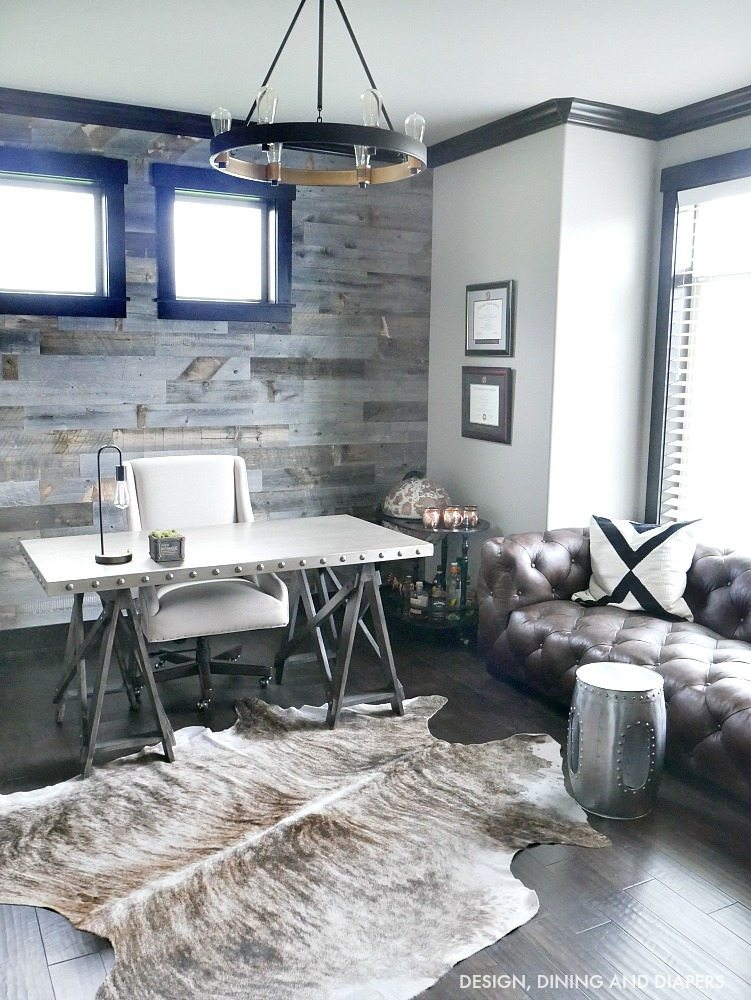 Modern Rustic Office