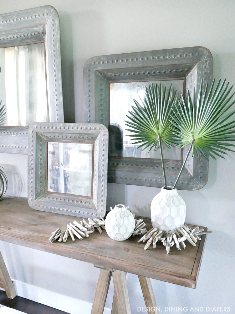 Summer Vignette with Driftwood