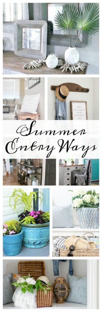 Beautiful Summery Entry Ways