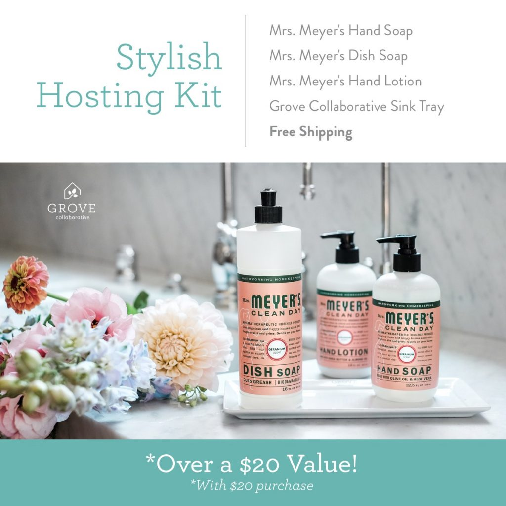 Grab your FREE set of Mrs. Meyer's Hand Soap + More!